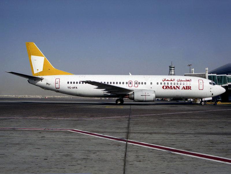 B737-400  TC-AFA