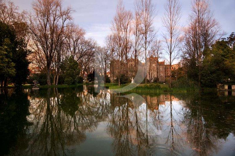 O Parque D. Carlos em 28 de fevereiro de 2011