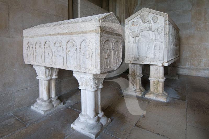 Os Túmulos de D. Vicente, D. Beatriz e D. Sancha