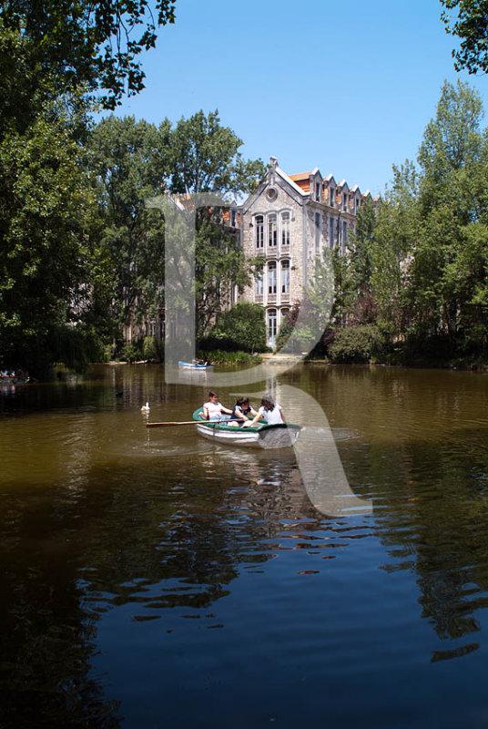 O Parque D. Carlos em 9 de setembro de 2004