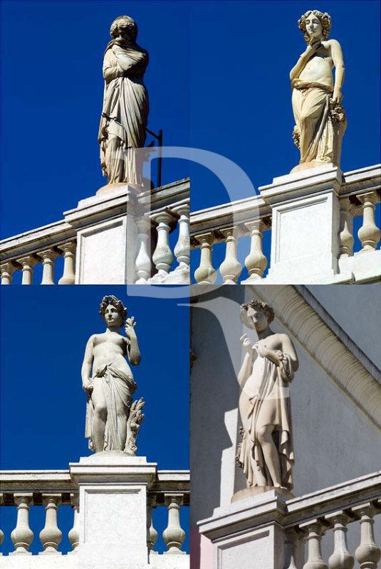 As Estatuetas do Palácio Valmor