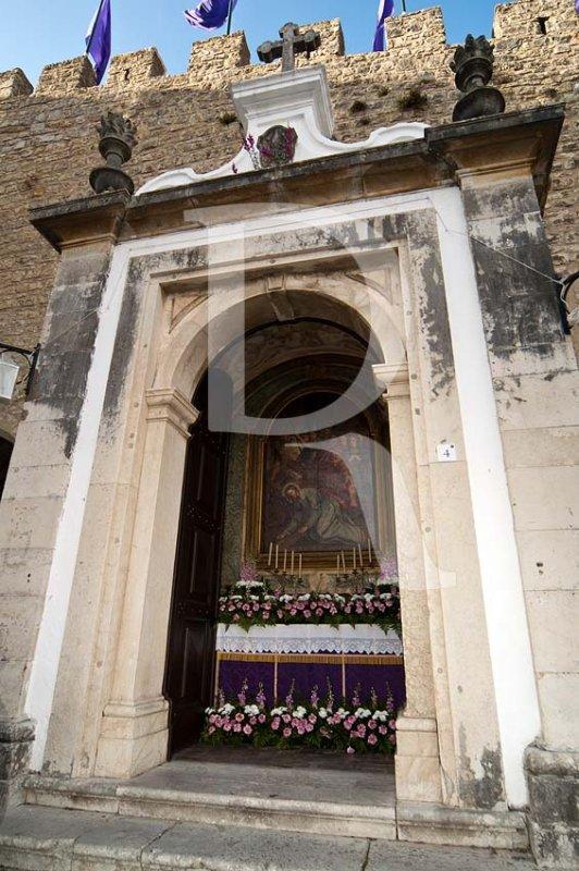 Passos do Calvário - Altar da Porta da Vila