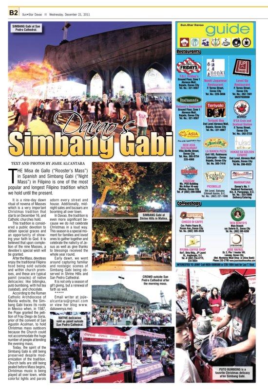 Davao's Simbang Gabi © Jojie Alcantara