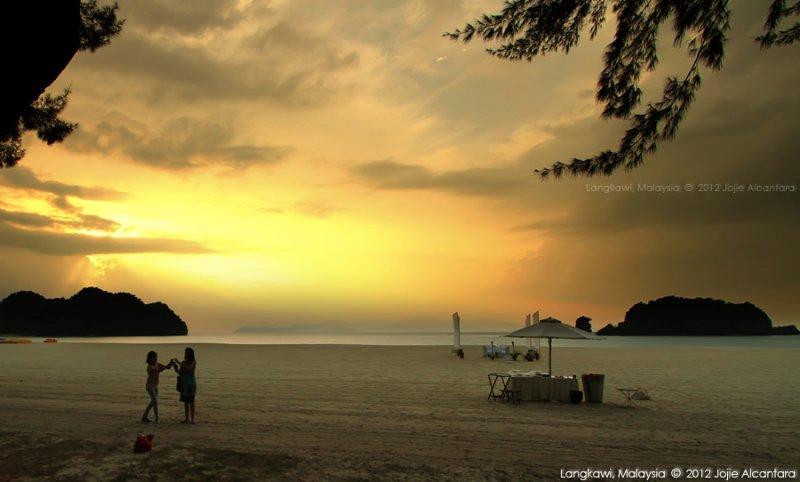 Sunset at Tanjung Rhu