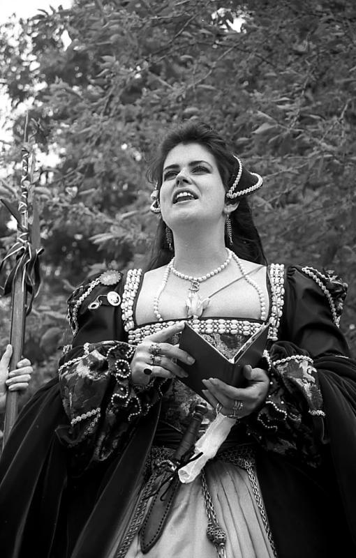 Queen Anne Boleyn of England