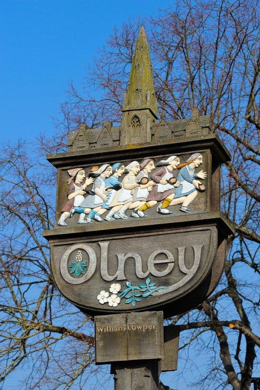 Olney Village Sign