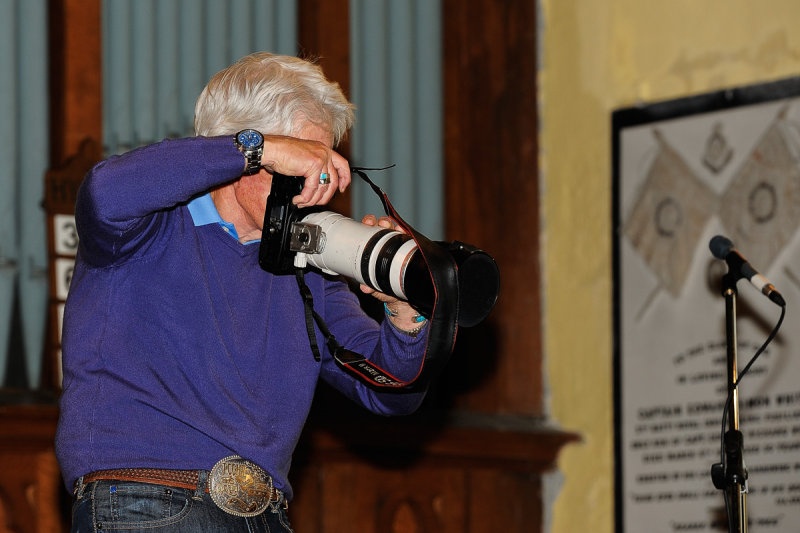 Michael Thorsnes WCLF Official Pro Photographer at work