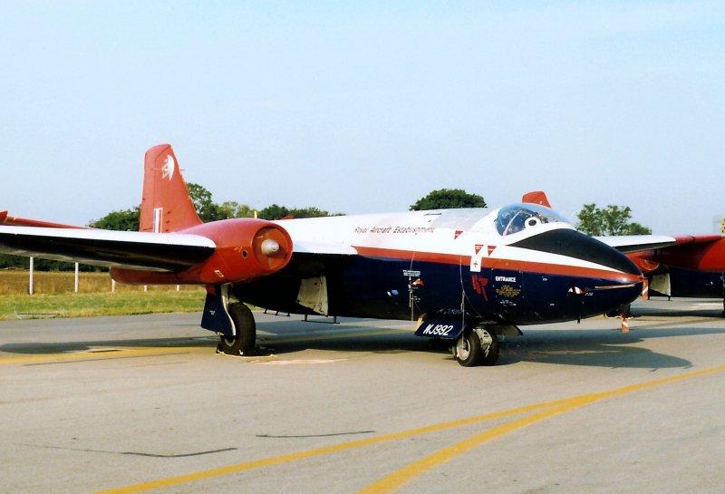Canberra T.4 WJ992