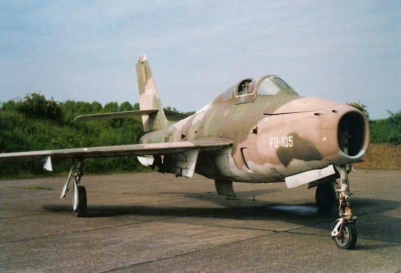 F-84F FU-105