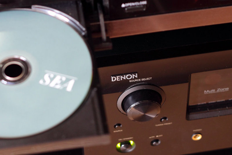 Denon AVR and CD Player