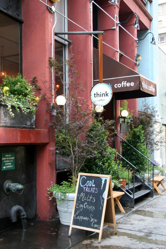 Coffee Shop Garden Entrance