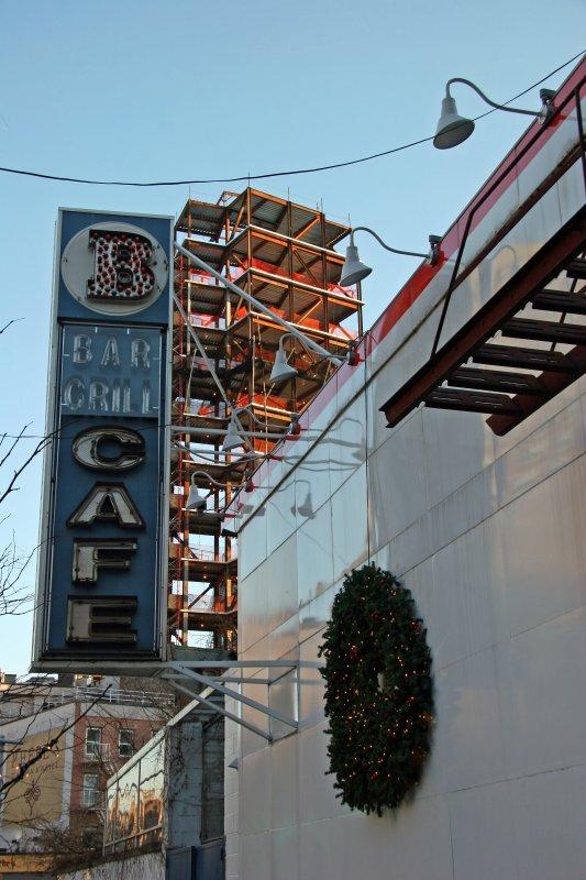 Bowery Bar & New Construction