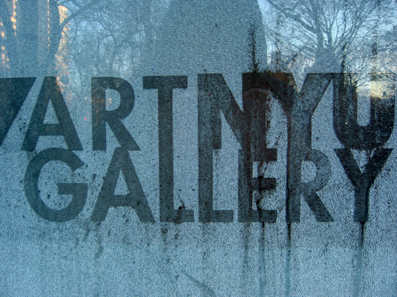 NYU Grey Gallery - Window Condensation