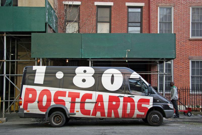 1-80-Postcards Van