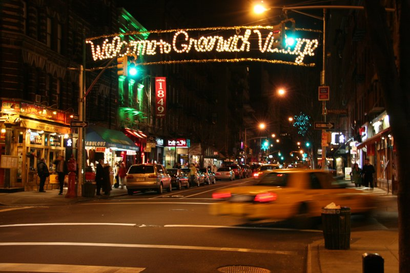 Welcome to Greenwich Village