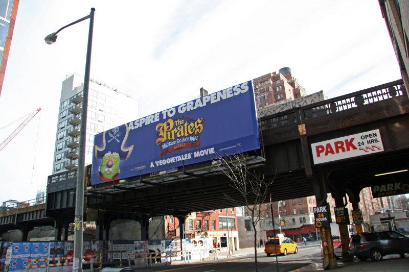 Street View - High Line Railway at 10th Avenue