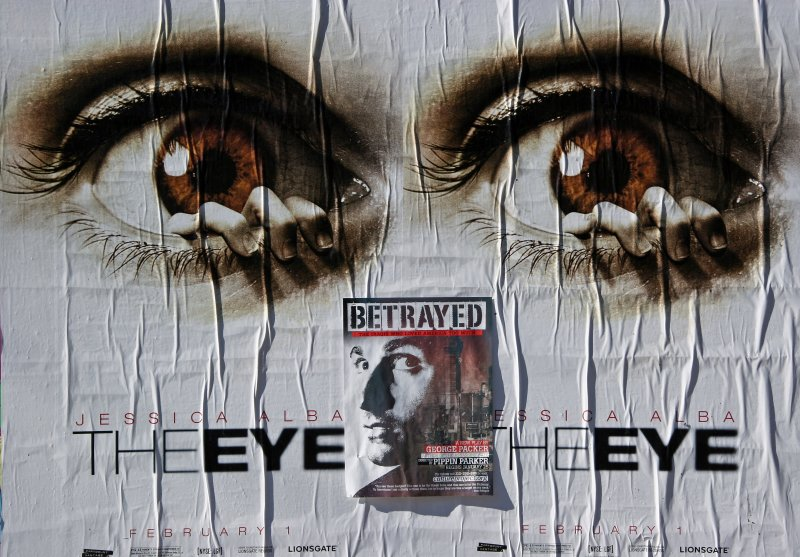 Construction Site Wall Posters - The Eye(s) & Betrayed