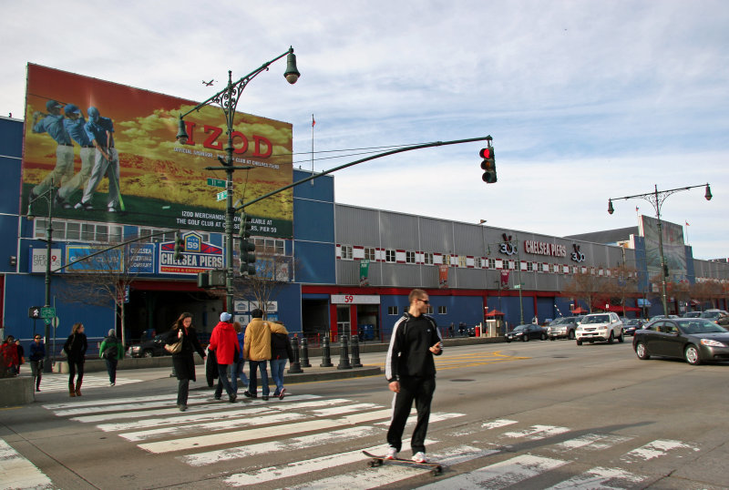 Chelsea Piers at 11th Avenue & 18th Street