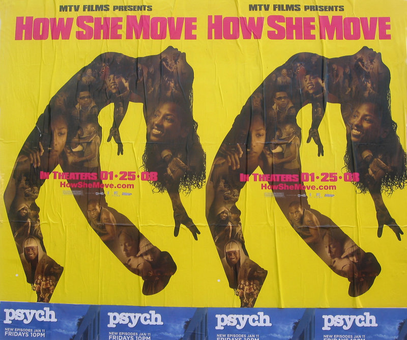 Movie Posters - How She Move