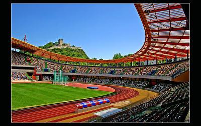 2006.04.29 ... A Football stadium and a Castle !!!