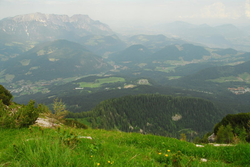 A view from the Kehlsteinhaus