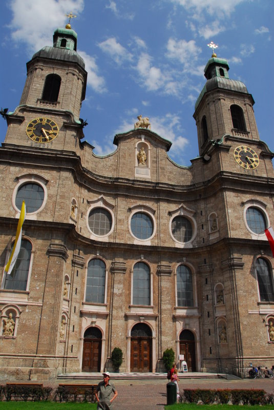 The Cathedral in Innsbruck