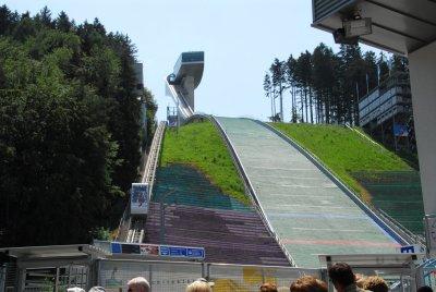 The Bergisel Skisjumping Stadium.