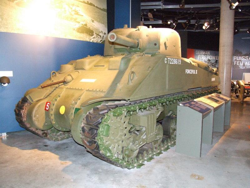 Sherman Display