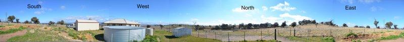 Observing site 360deg panorama