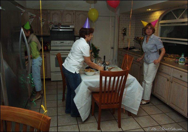Tanias surprise birthday party