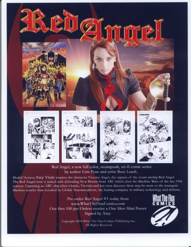 Amy Vitale as Red Angel