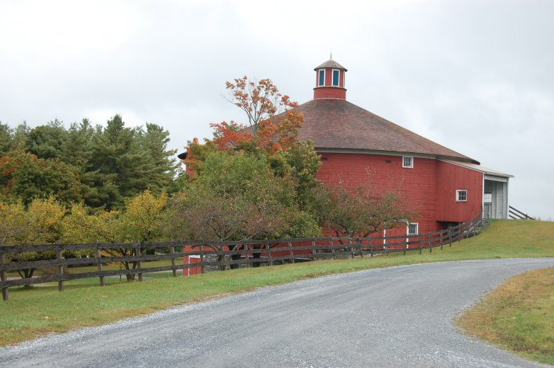 Barn Silo is the location of the exhibit