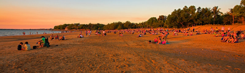 Mindil Beach Sunset Panorama