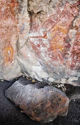 Bill Neidjies Hand - aboriginal art