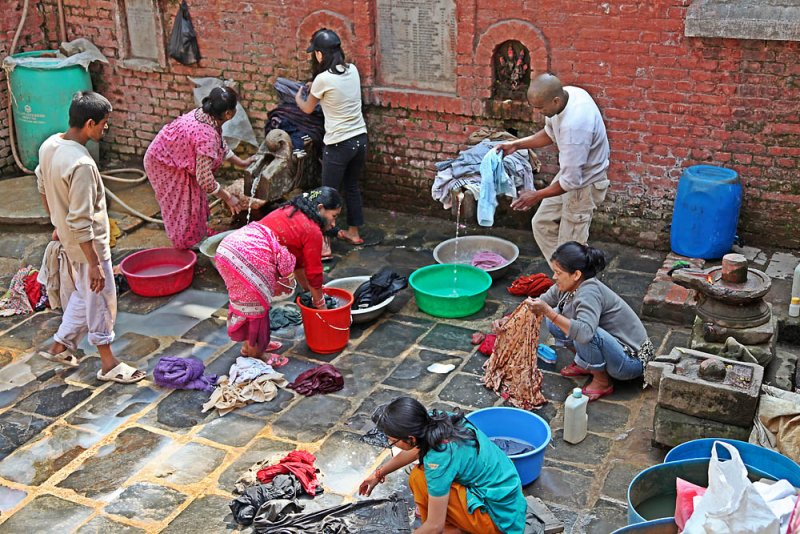 daily life in Kathmandu