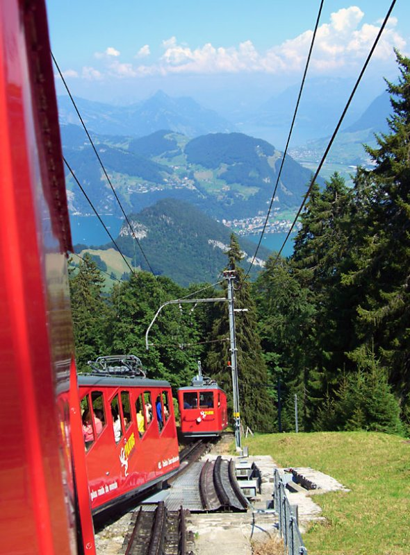 Funicular to Mount Pilatus