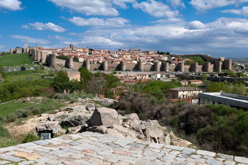 The walled city, Avila