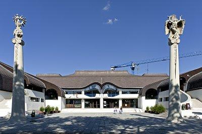 SÁROSPATAK, Culture Center, Imre Makovecz