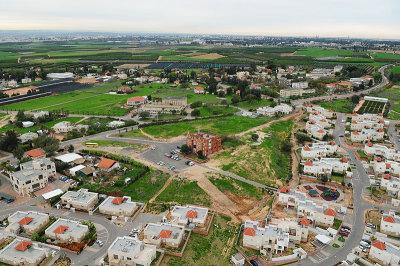 כפר חבד צילום אויר