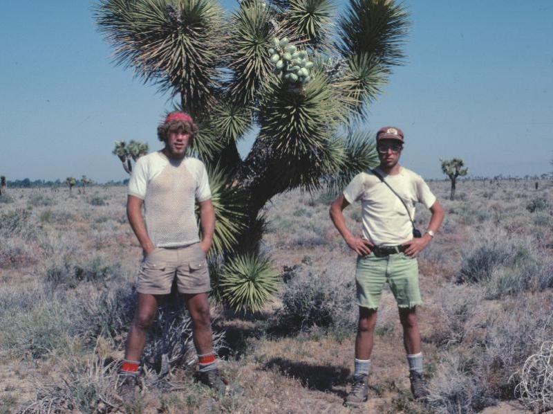 Mojave Desert ( April 1977) Note: Fishnet Shirt,  Poly Pro Of The 70s