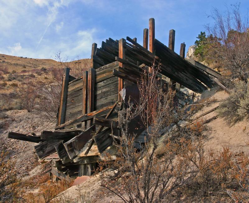 Old Abandoned Mine Shaft photo - Monte Dodge photos at pbase com