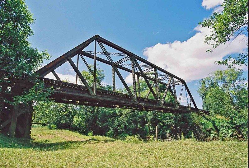Railroad Bridge Over Willapa River ( Now Abandoned MP 42)