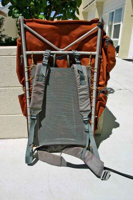 Trail Wise Pack  ( Note nice large vented backband)