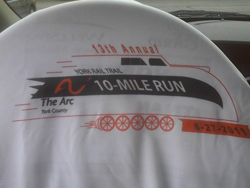 10 miler shirt