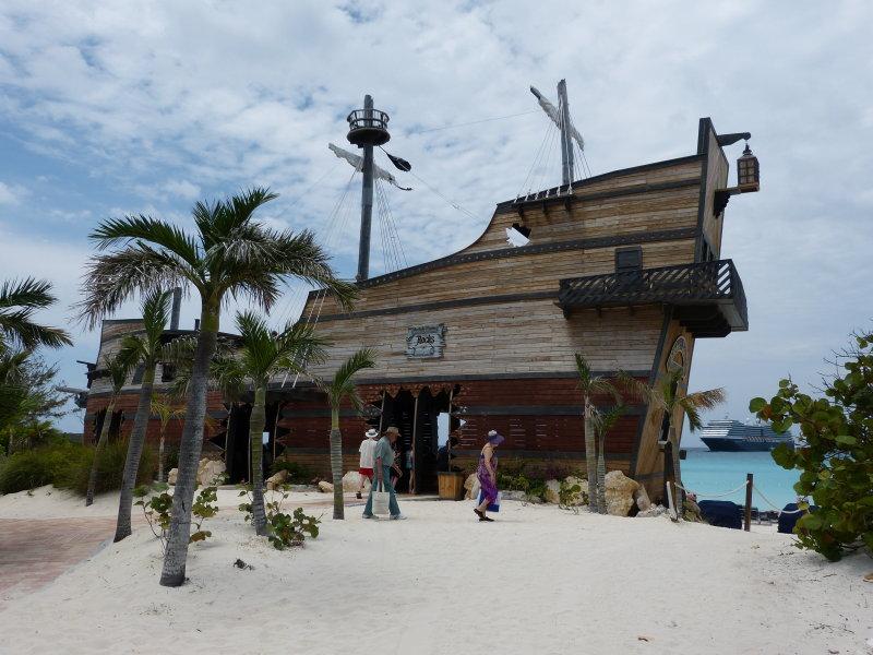 The Emma Louise Pirate Ship bar