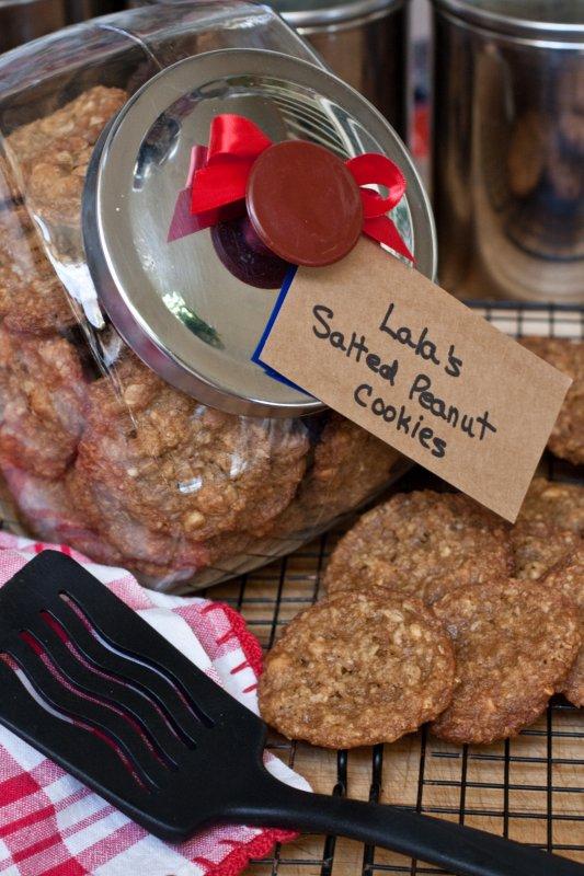 Lalas Salted Peanut Cookies