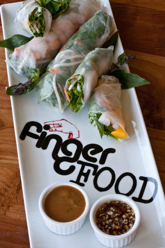 Shrimp and Mango Summer Rolls