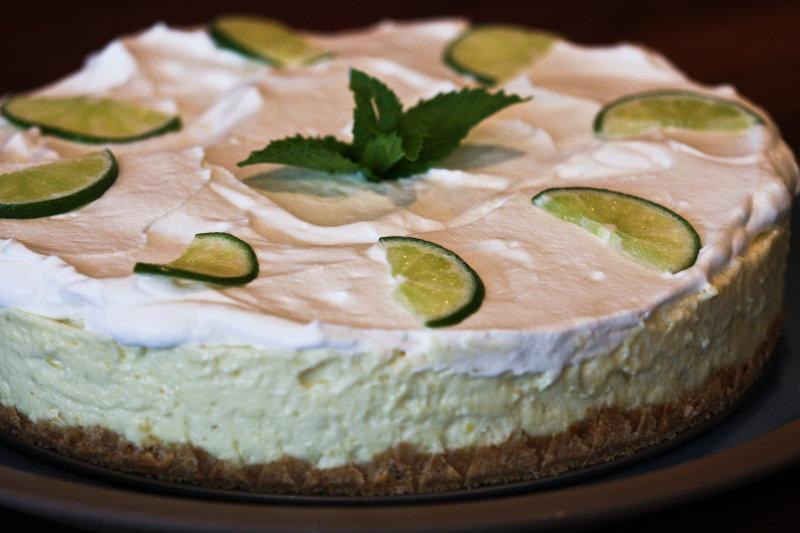 Emerils Key Lime Cheesecake