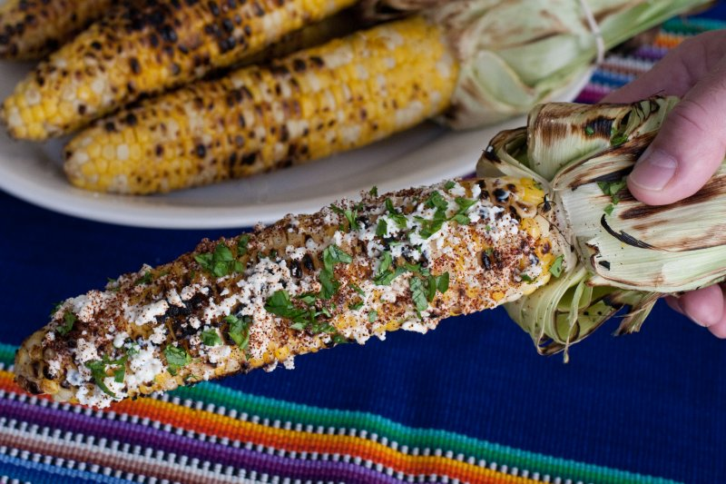 Mexican-Style Roasted Corn
