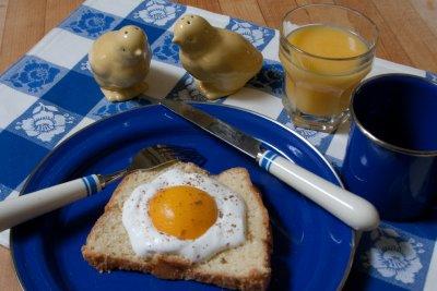 Fried Egg on Toast?